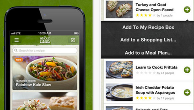whole foods market iphone app