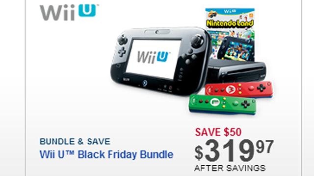 Black Friday 2013 Wii U