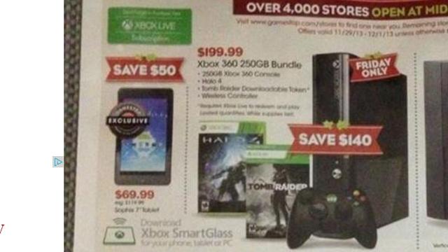 Black Friday 2013 Xbox 360