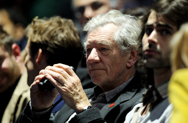 Ian McKellen The Hobbit Russia Anti-Gay Law Gandalf