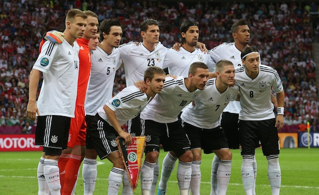 germany versus the US world cup