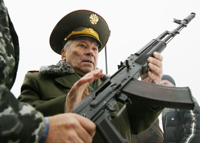Mikhail Kalashnikov AK-47 Assault Rifle Inventor Dies Dead Died RIP Death