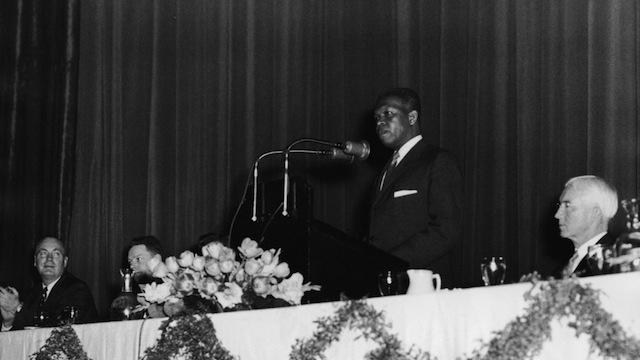 Nelson Mandela Speaks In Early 1960s.