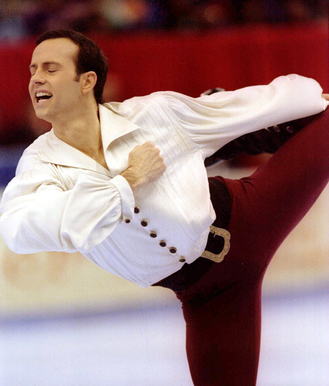 Brian Boitano performs at the U.S. National Figure Skating Championships in 1994 in Detroit. Today he came out to the world.