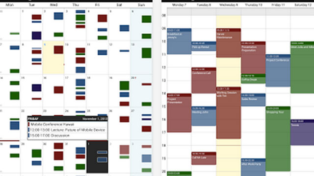 business calendar pro android app