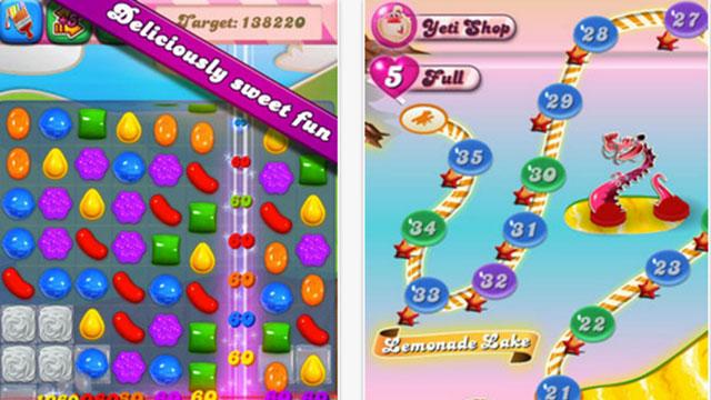 candy crush saga iphone app
