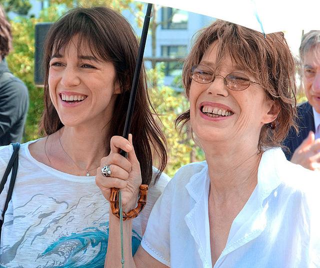 Charlotte Gainsbourg Jane Birkin Mother Kate Barry Mother Sister