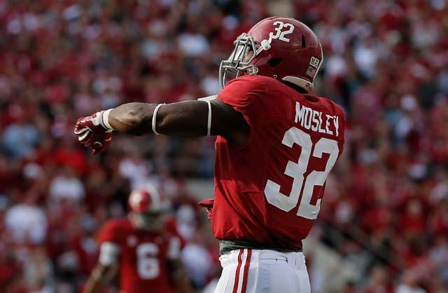 C.J. Mosley, Alabama,  AP All-American