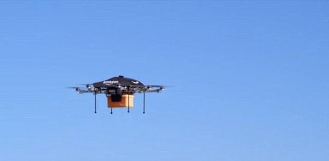 Amazon Drones Air