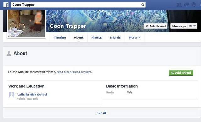 Peter Burns Pleasantville New York Cop Racist Anti-Obama Facebook Messages Suspended