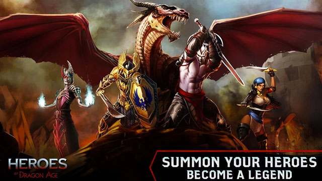 heroes of dragon age android app