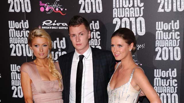 Barron Hilton, Paris Hilton, Nicky Hilton