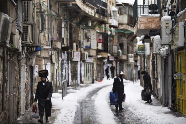 Winter Storm in Israel