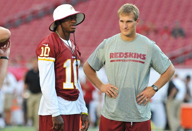 Kirk Cousins, Robert Griffin III, Redskins