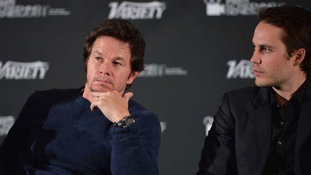 Wahlberg and co star Taylor Kitsch