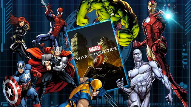 marvel war of heroes android app