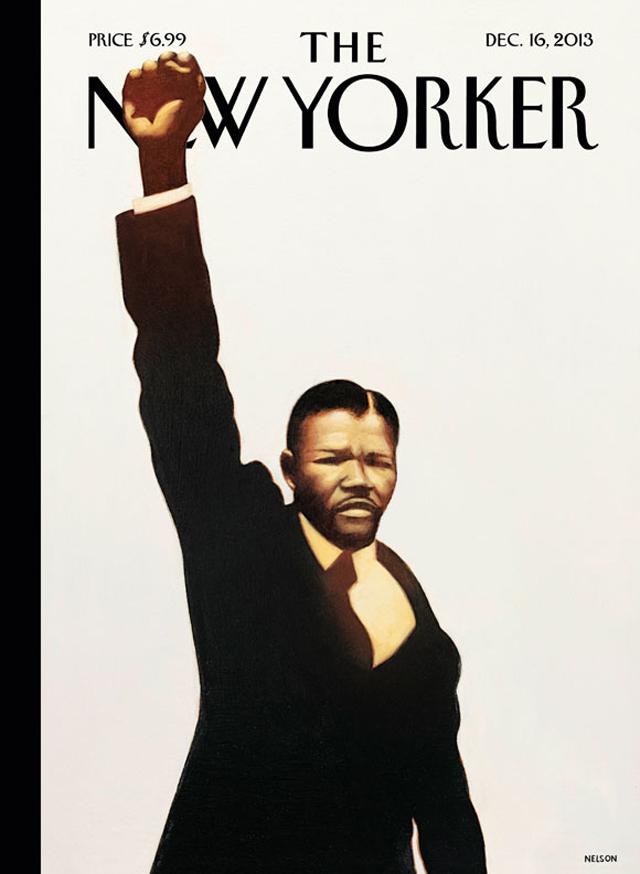 Nelson Mandela New Yorker Cover Dead
