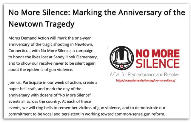 newtown anniversary gun control ad