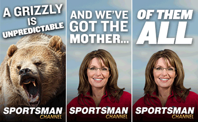 sarah palin new tv show on the sportsman channel