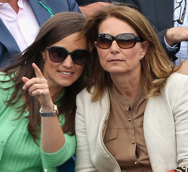 Pippa and her mother, Carole Middleton (Getty)