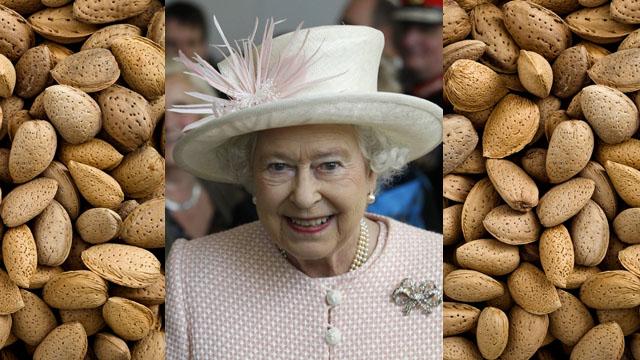 queen elizabeths nuts