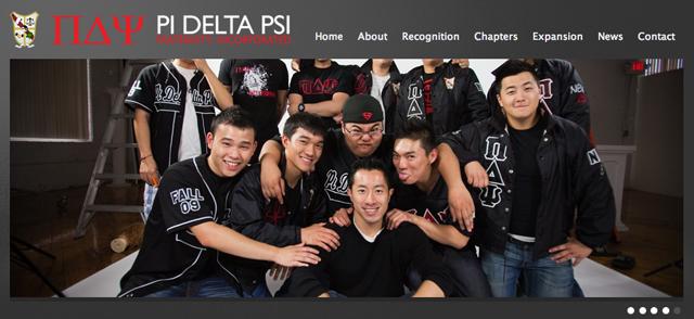Michael Deng's Fraternity Pi Delta Psi