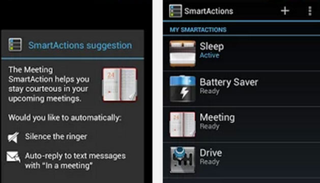 smartactions android app
