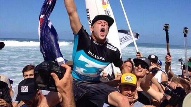 Mick Fanning Pipeline Masters Hawaii Surfing World Champion 2013