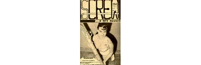 The debut issue of screw. Image Credit: Dbr.nu