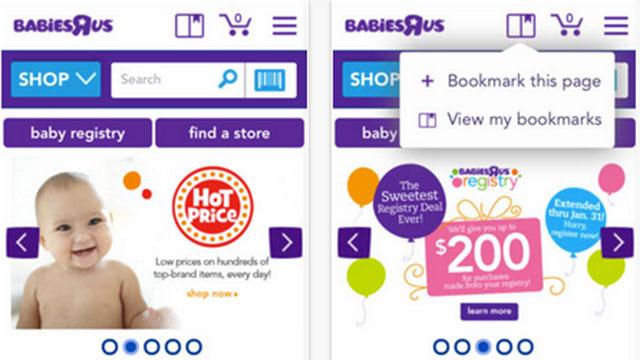 babies r us iphone app
