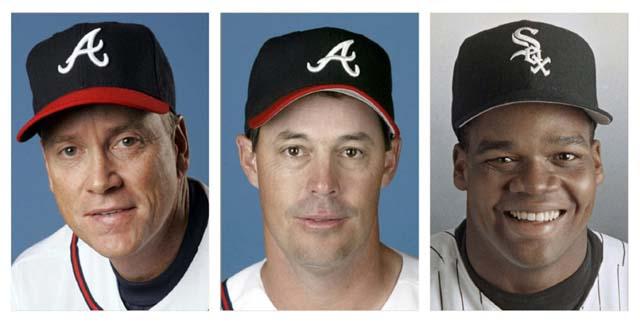MLB, baseball, Hall of Fame, Cooperstown, Tom Glavine, Greg Maddux, Frank Thomas