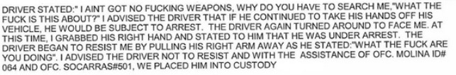 Justin Bieber Police Report, Justin Bieber Arrest Record Documents, Read Justin Bieber's Police Report, Justin Bieber's Arrest Report