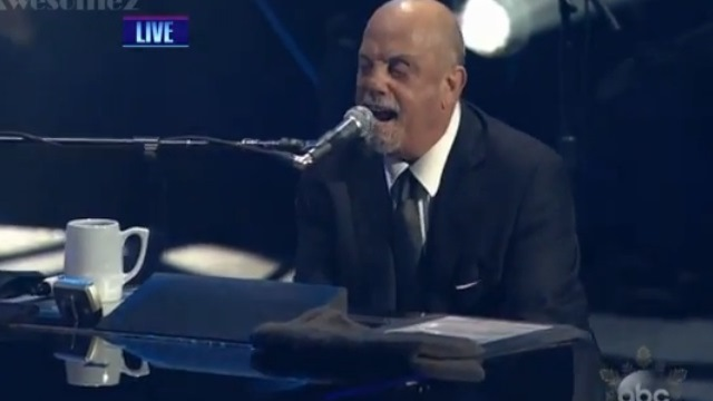 Billy Joel New Year's Eve Video Performance, Billy Joel You May Be Right NYE, Billy Joel NYE 2013, Billy Joel Rockin' Eve Performance Video