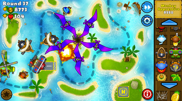 bloons td5 android app
