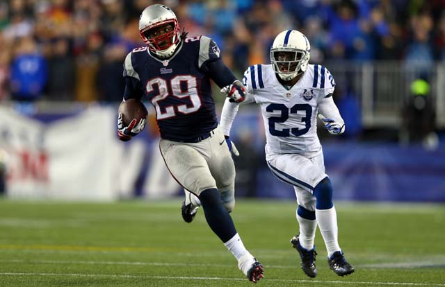 LeGarrette Blount, New England Patriots, Indianapolis Colts, NFL Playoffs