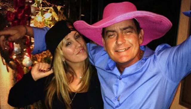 Charlie Sheen, Charlie Sheen girlfriend, Charlie Sheen Denise