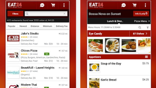 eat24 android app