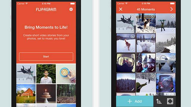 flipagram iphone app