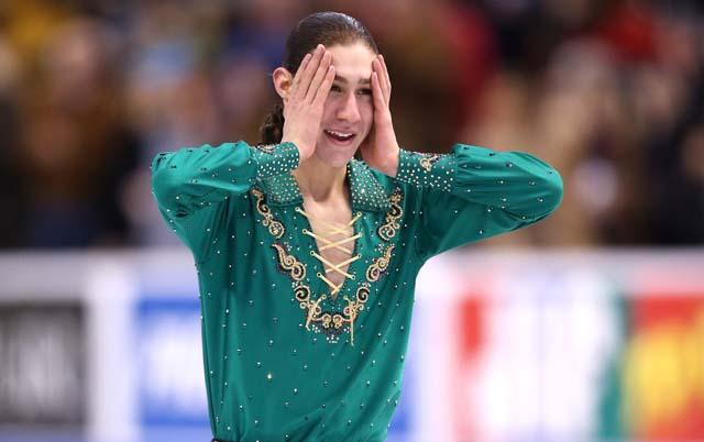 Jason Brown, figure skater, Sochi Olympics