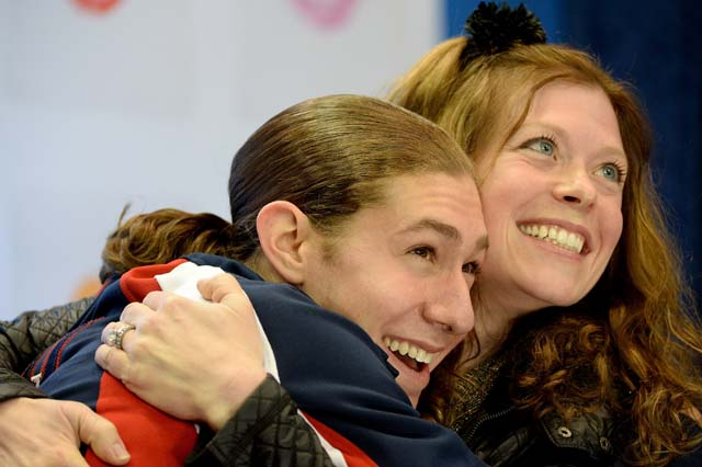 Jason Brown, figure skater, Sochi Olympics