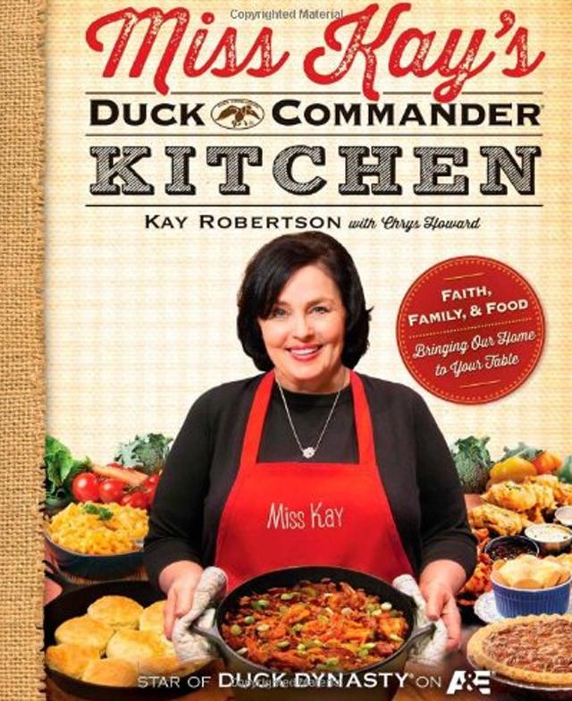 duck dynasty, duck dynasty book, miss kay, miss kay robertson, duck dynasty cookbook