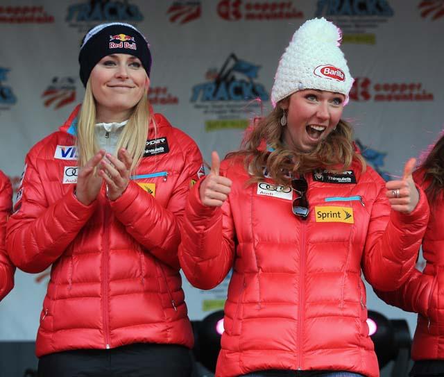 Mikaela Shiffrin, Lindsey Vonn, Winter Olympic Games, Sochi