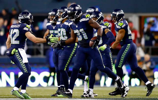 Seattle Seahawks, San Francisco 49ers, NFC Championship game, NFL playoffs, football, Kam Chancellor