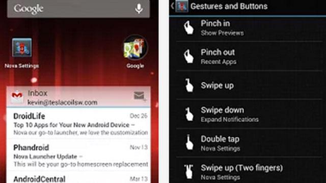 nova launcher prime android app