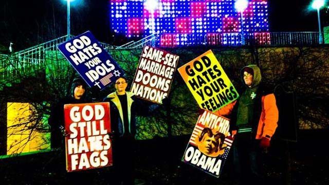 Westboro Baptist Church Picket Funeral Omaha International Nutrition Explosion Fire Collapse
