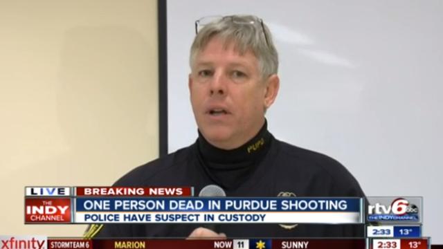 Purdue Electrical Engineering  Shooting, Purdue University Shooting.