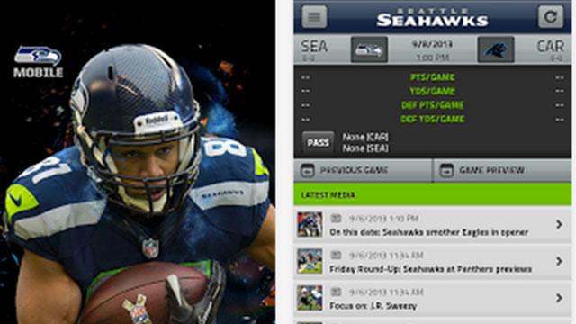 seattle seahawks mobile app