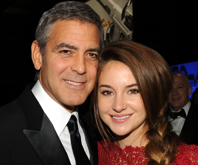 Shailene Woodley , The Fault in our stars, george clooney, shailene woodley movie
