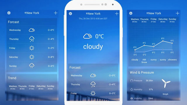 solo weather android app