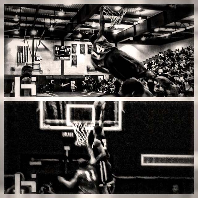 Kiefer Sykes Dunk Pics